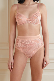Eres Kashmir Touk Touk stretch-Leavers lace underwired soft-cup bra