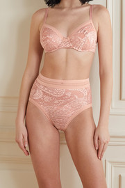 Eres Kashmir Gigembre stretch-Leavers lace briefs