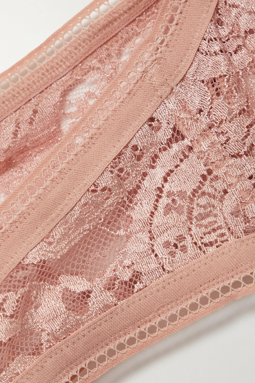 Eres Kashmir Mousson stretch-lace bandeau bra