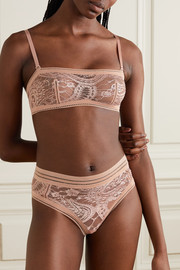 Eres Kashmir Musc stretch-lace thong