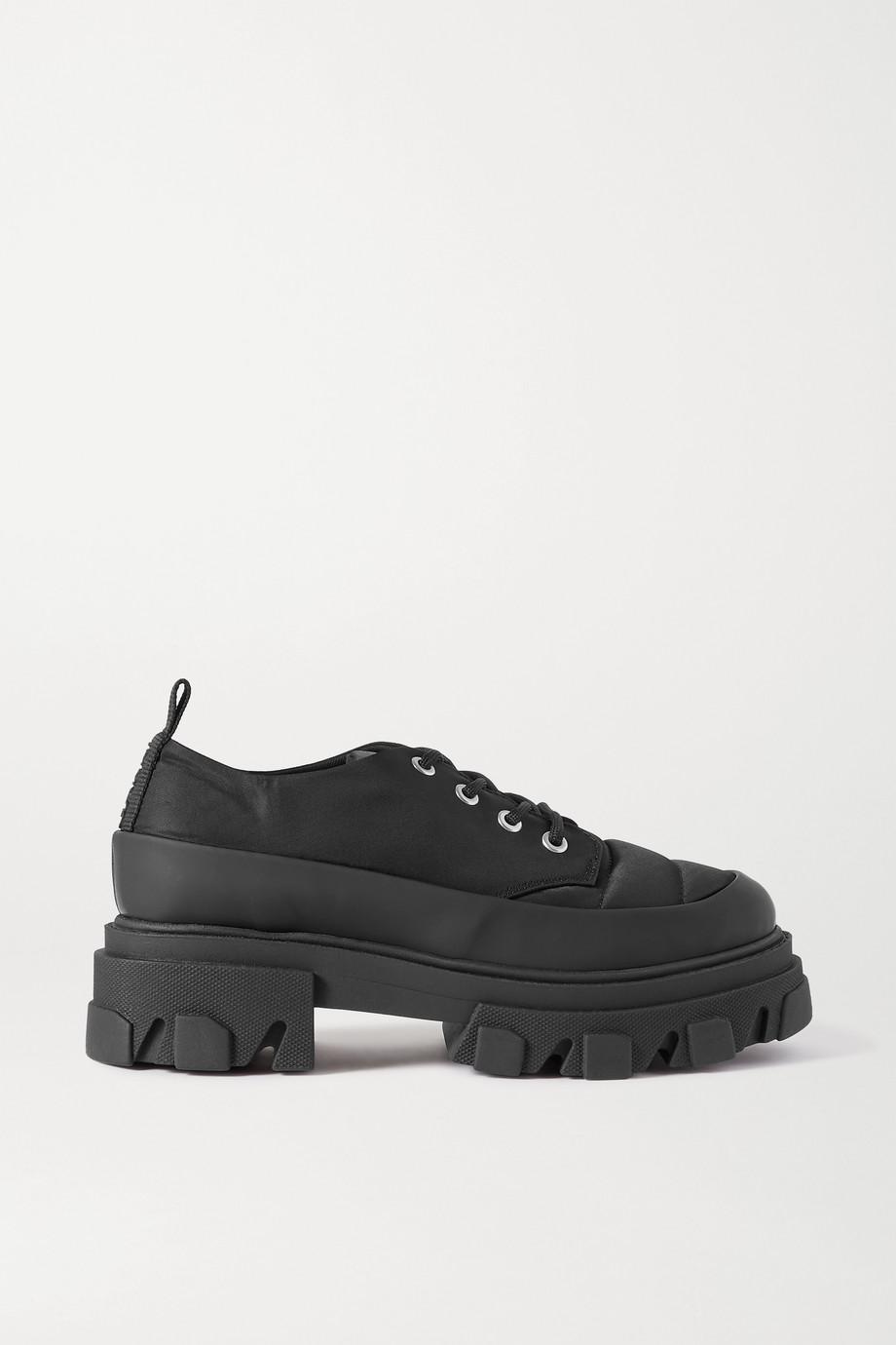 GANNI 软壳面料布洛克鞋