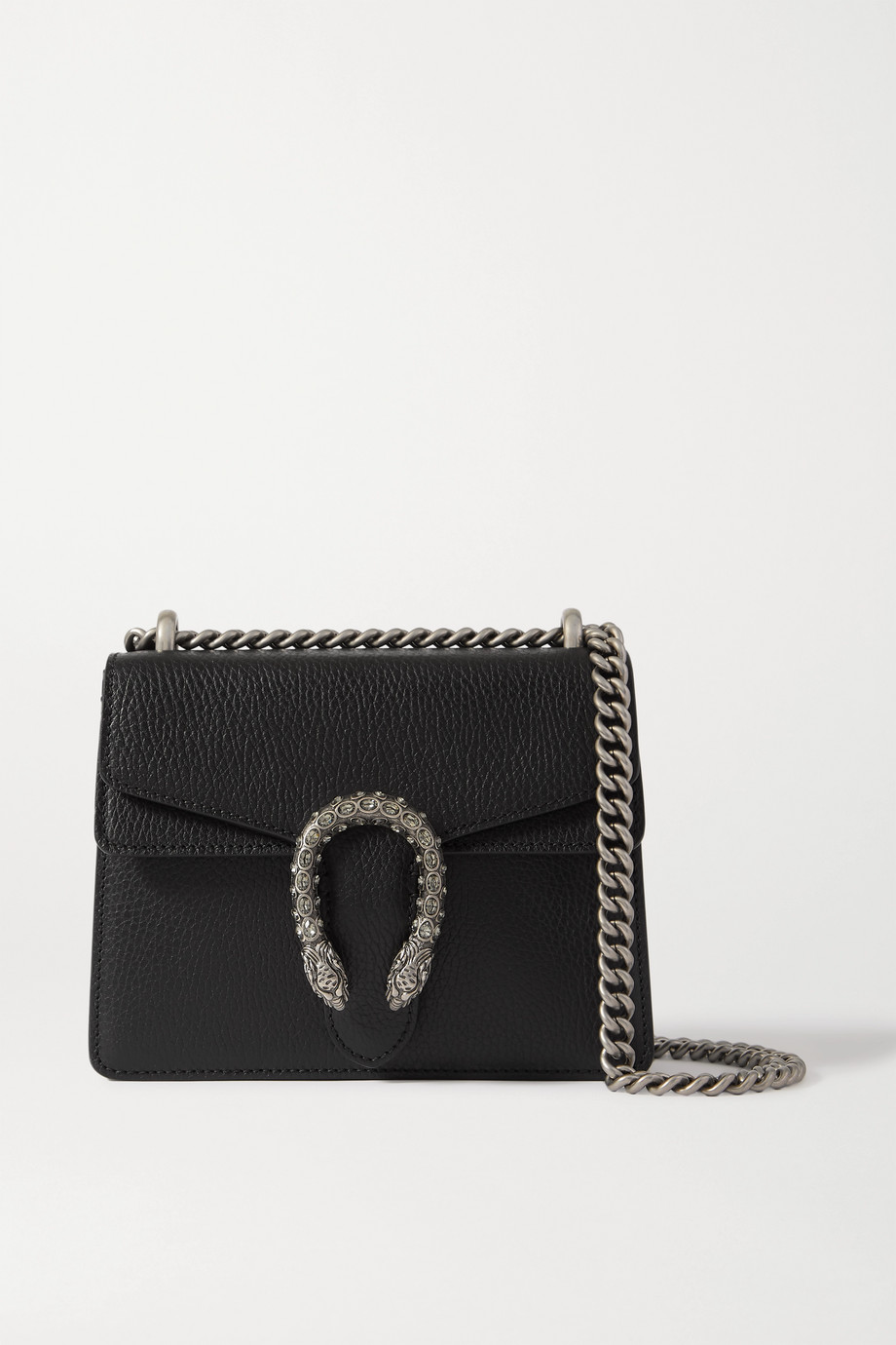 Gucci + NET SUSTAIN Dionysus mini textured-leather shoulder bag