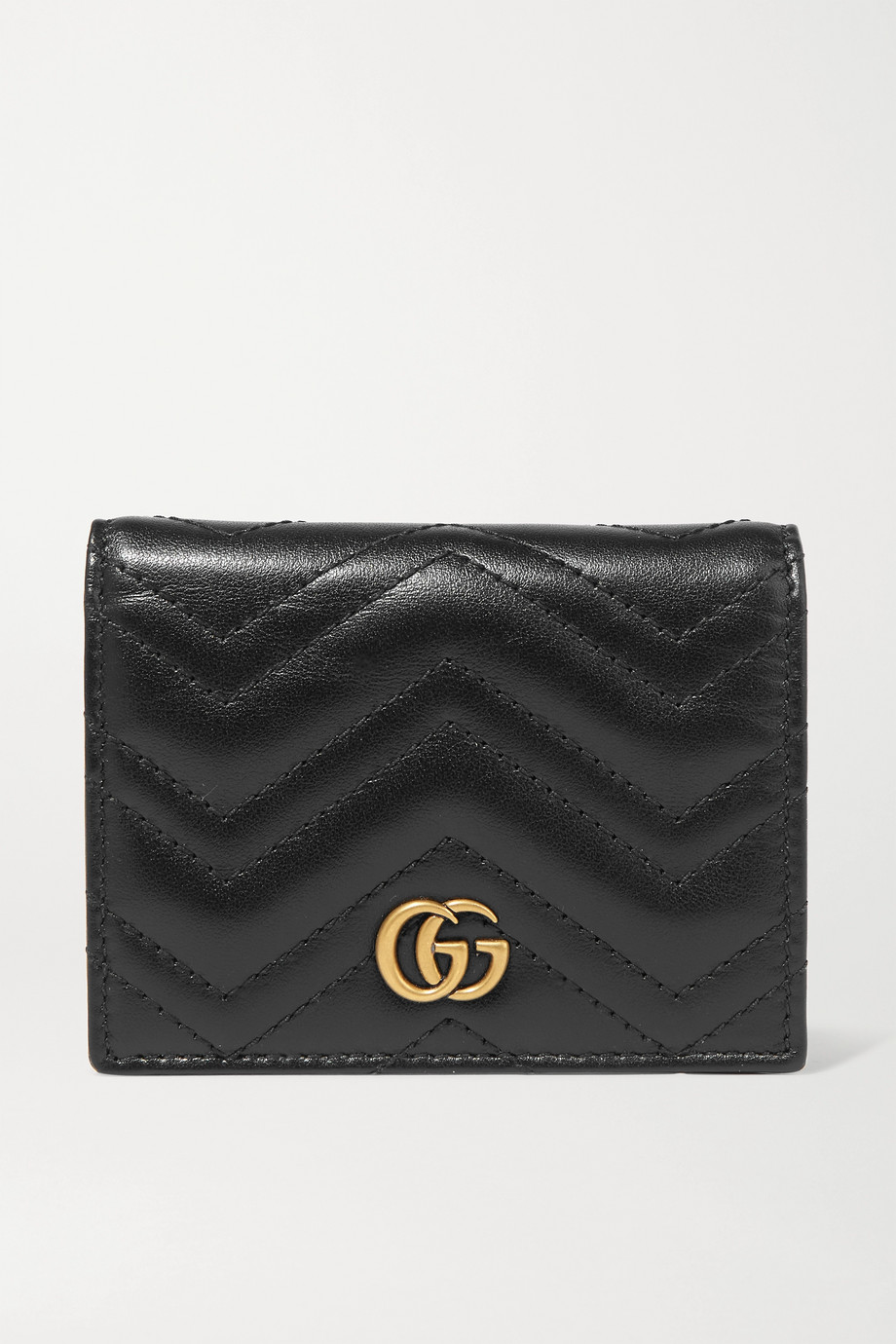 Gucci GG Marmont 绗缝皮革钱包