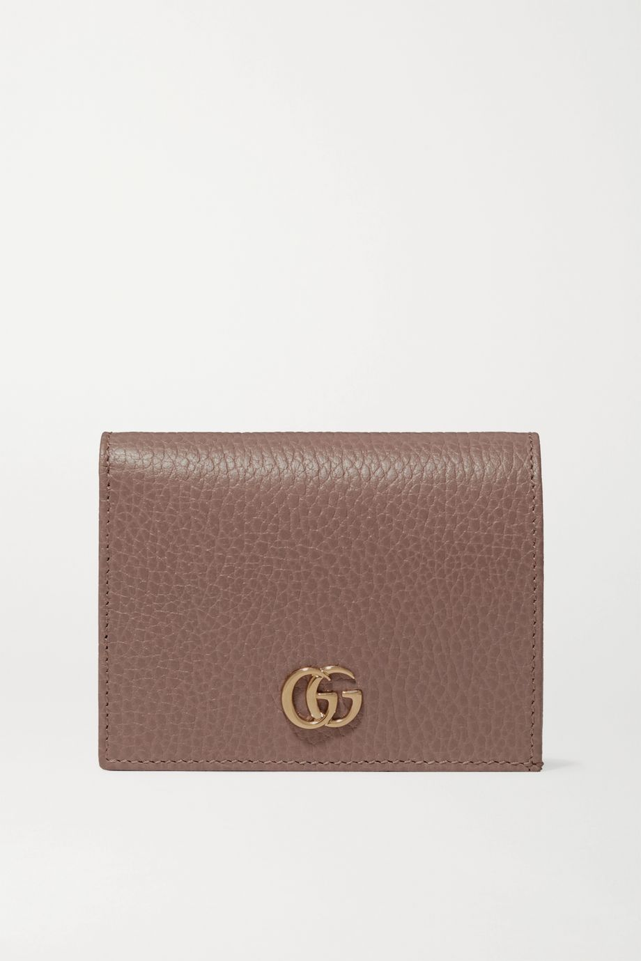 Gucci + NET SUSTAIN Marmont Petite textured-leather wallet