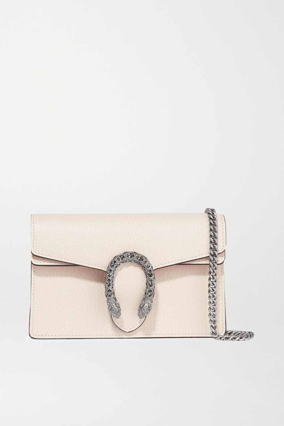 Gucci + NET SUSTAIN Dionysus super mini textured-leather shoulder bag