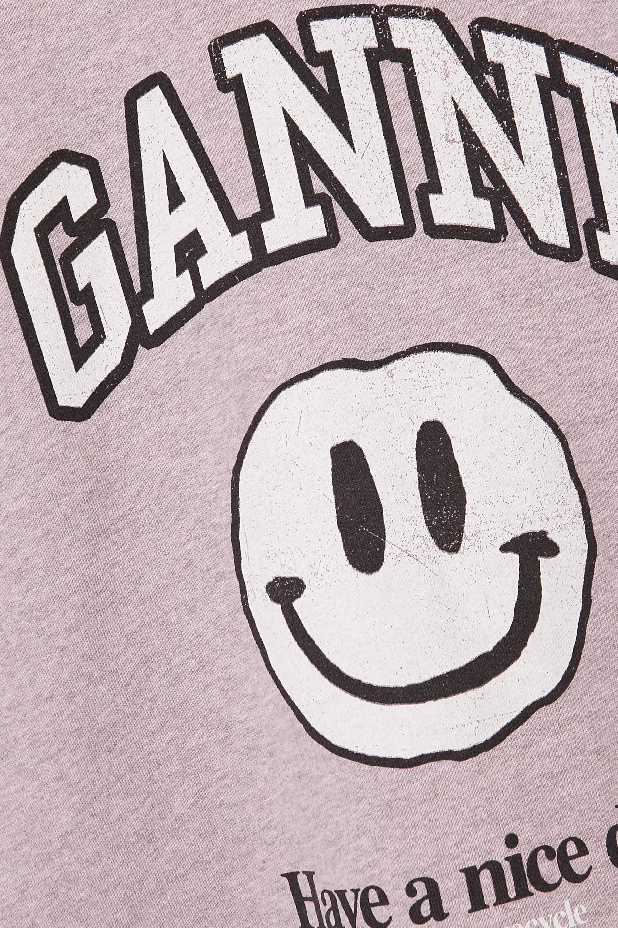 GANNI + NET SUSTAIN printed EcoLife sweatshirt