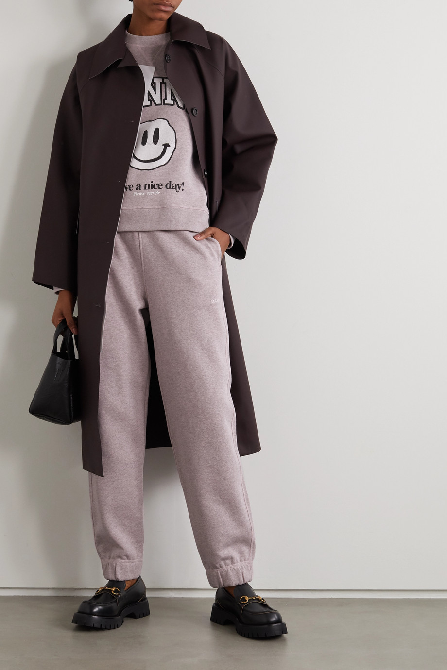 GANNI + NET SUSTAIN EcoLife track pants