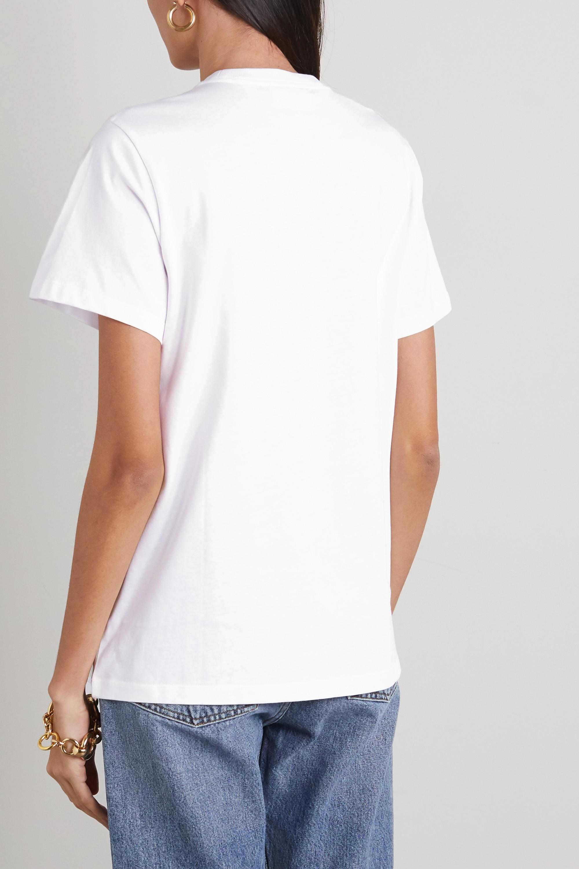 GANNI + NET SUSTAIN T-Shirt aus Biobaumwoll-Jersey mit Print