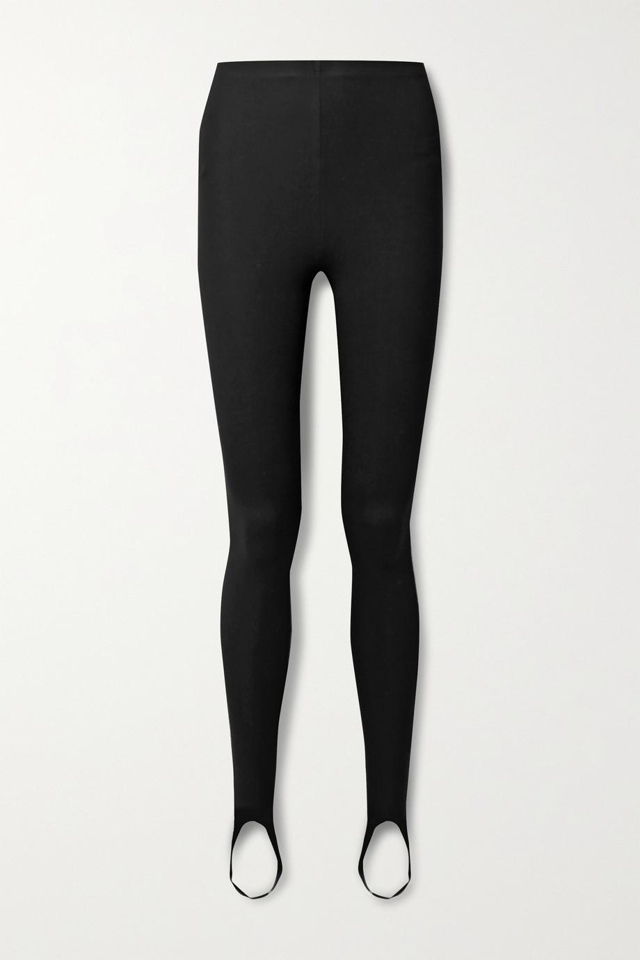 LESET Rio stretch-ponte stirrup leggings