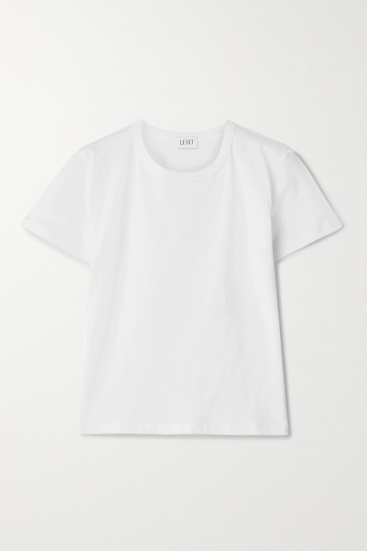 LESET Margo cotton-jersey T-shirt