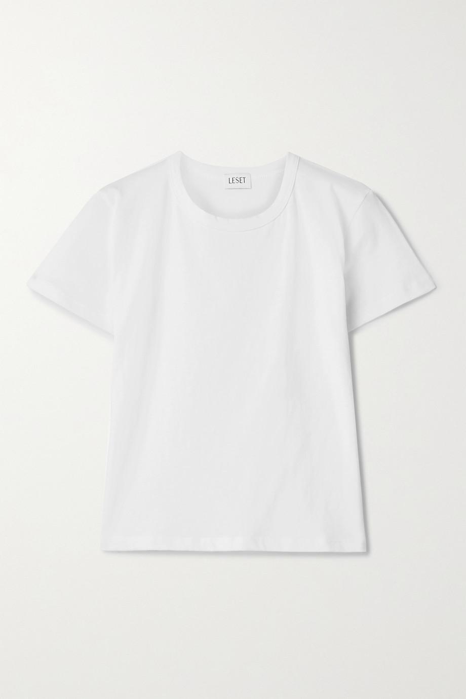 LESET T-shirt en jersey de coton Margo