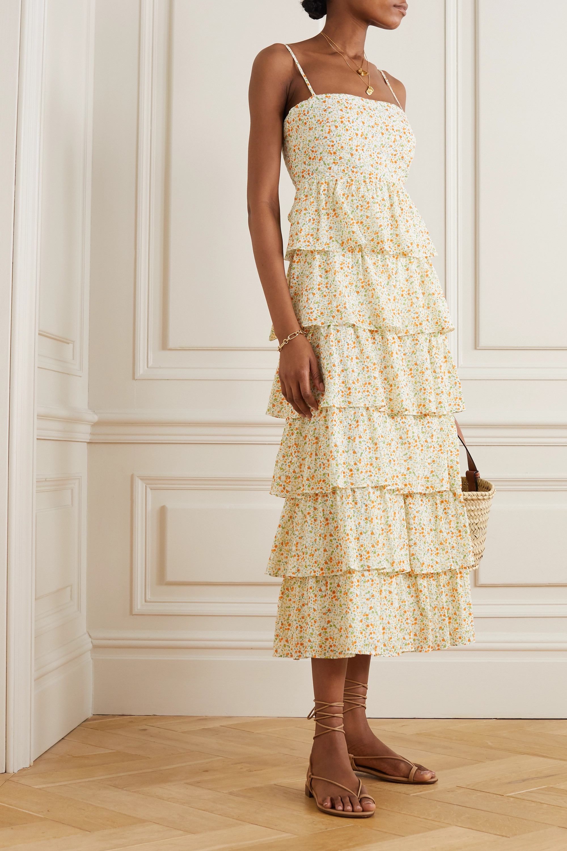 Peony + NET SUSTAIN Wildflower organic cotton and ECOVERO-blend dress