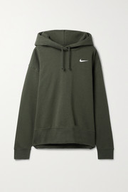 Nike Cotton-blend jersey hoodie