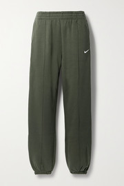 Nike Sportswear cotton-blend jersey track pants