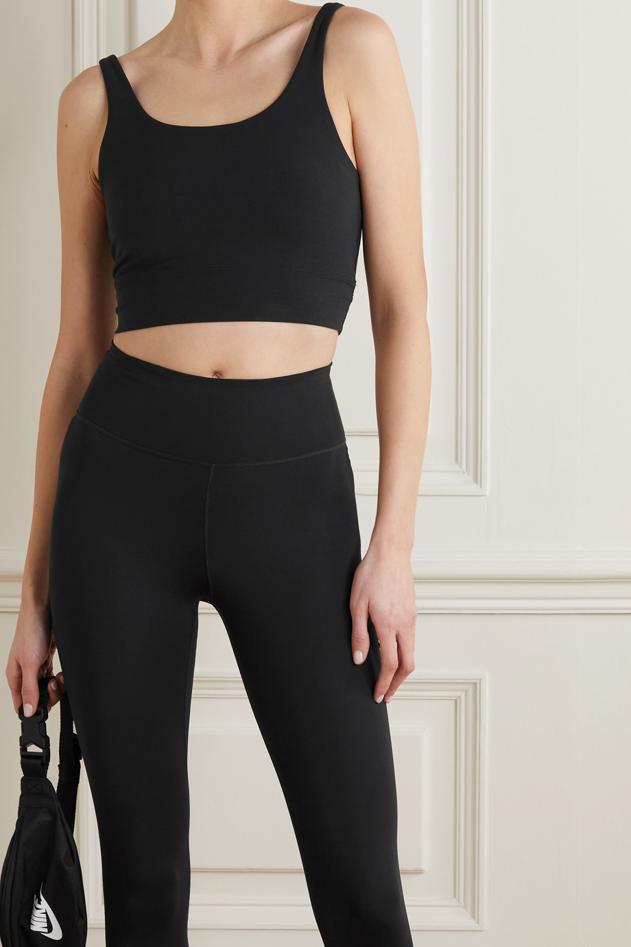 Nike Yoga Luxe cropped Dri-FIT tank