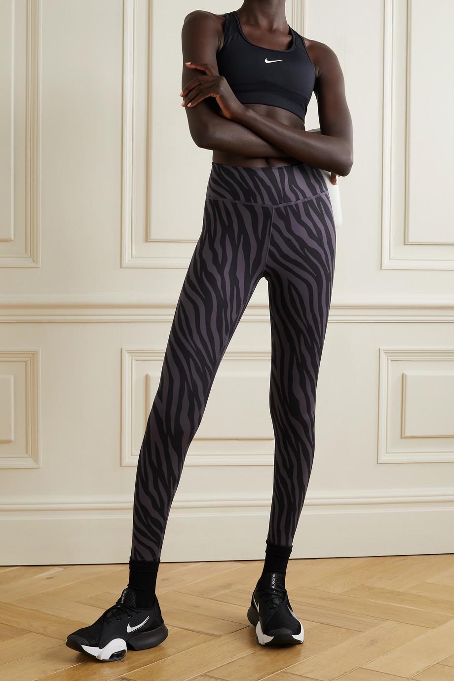 Nike One printed Dri-FIT leggings