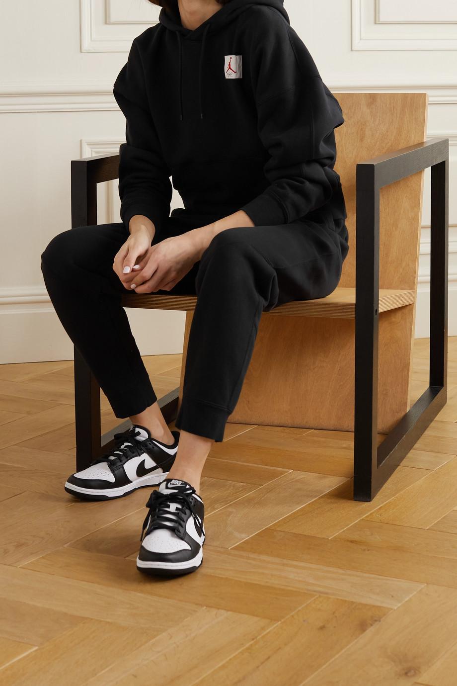 Nike Jordan Flight appliquéd printed cotton-blend jersey hoodie