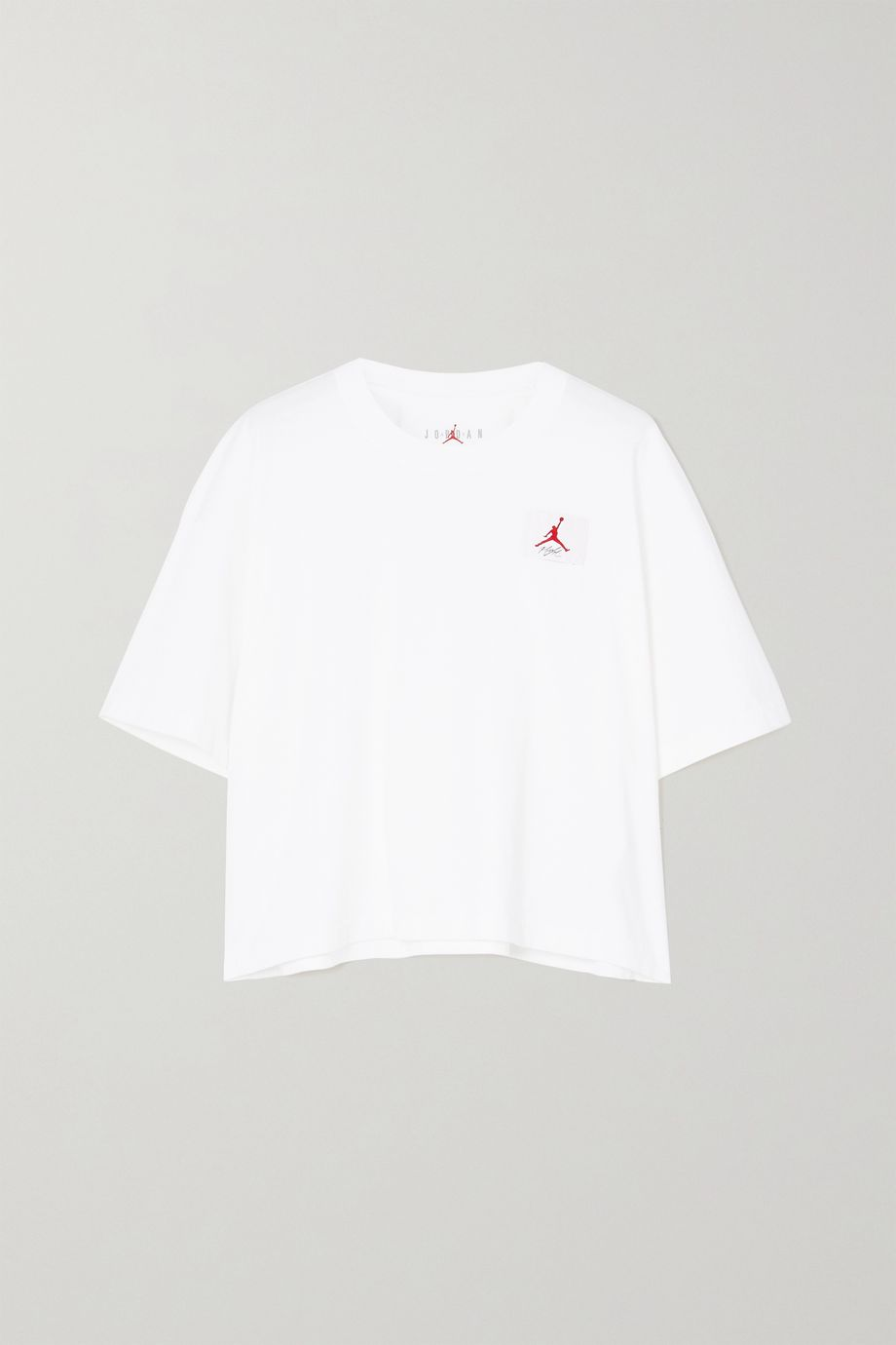Nike Jordan appliquéd cotton-jersey T-shirt