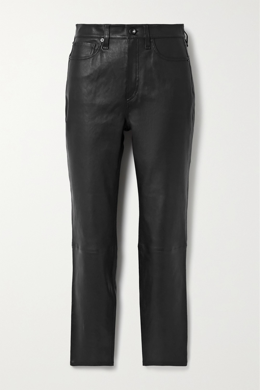 rag & bone Nina skinny leather pants