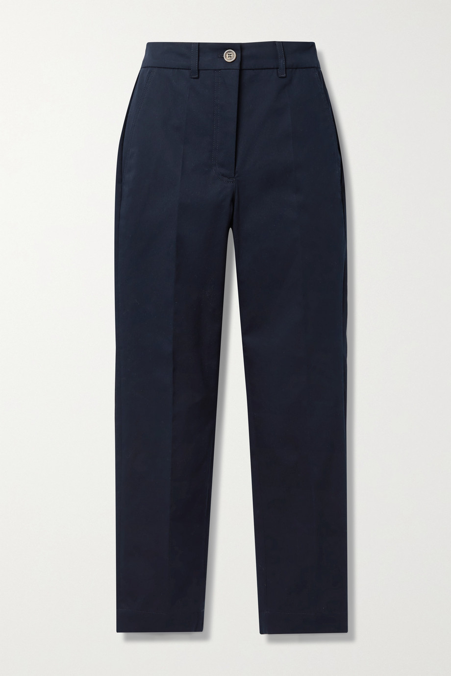 Moncler Cotton-blend twill tapered pants