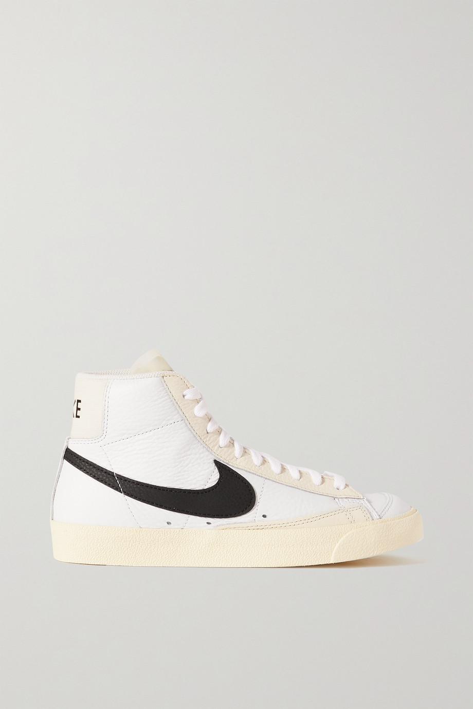 Nike Baskets montantes en cuir Blazer Mid '77 Barcode