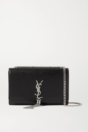 SAINT LAURENT Kate medium textured-leather shoulder bag