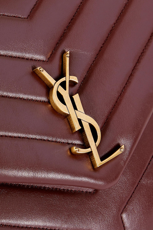 SAINT LAURENT Loulou medium quilted leather shoulder bag