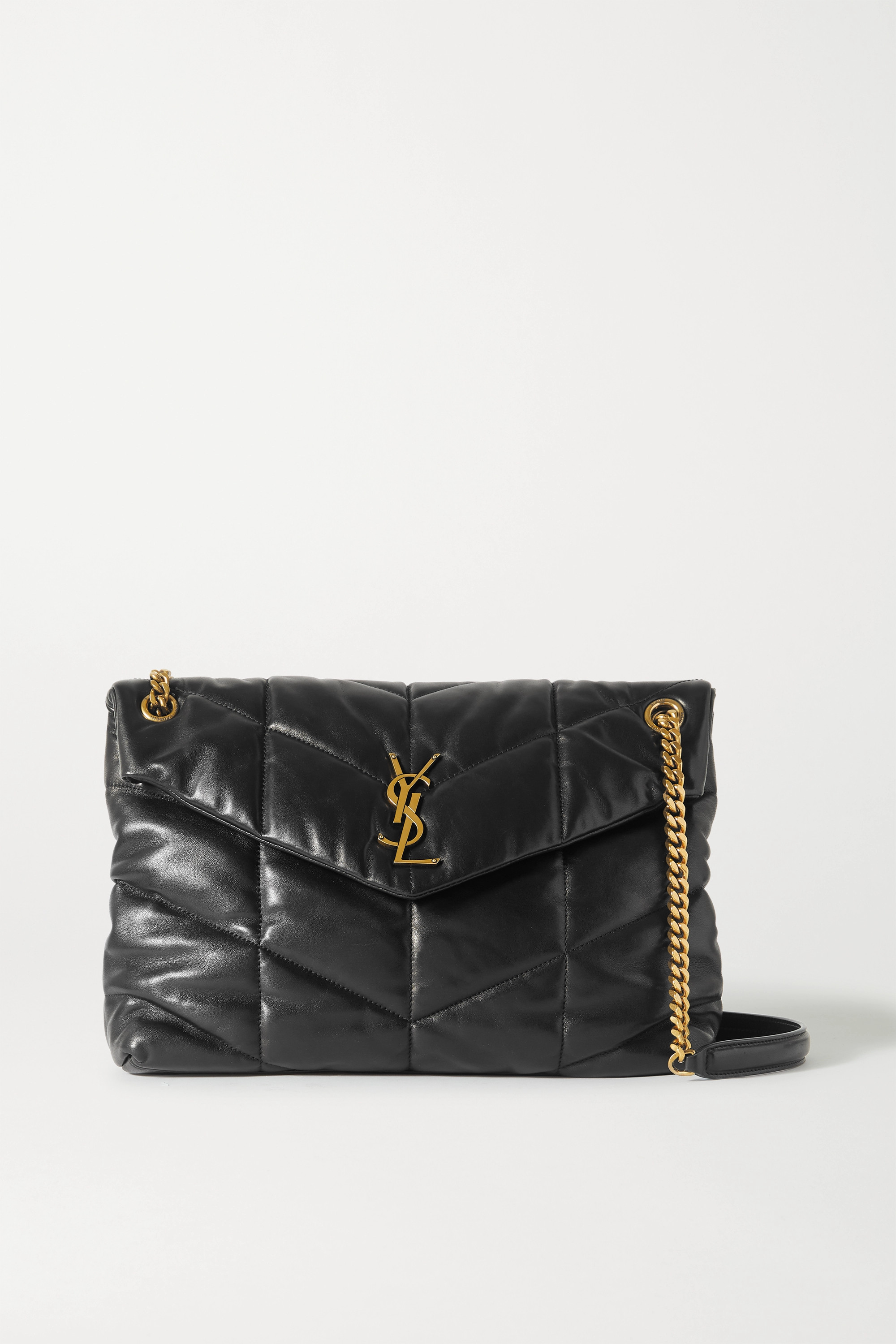 SAINT LAURENT - Loulou Puffer medium quilted leather shoulder bag