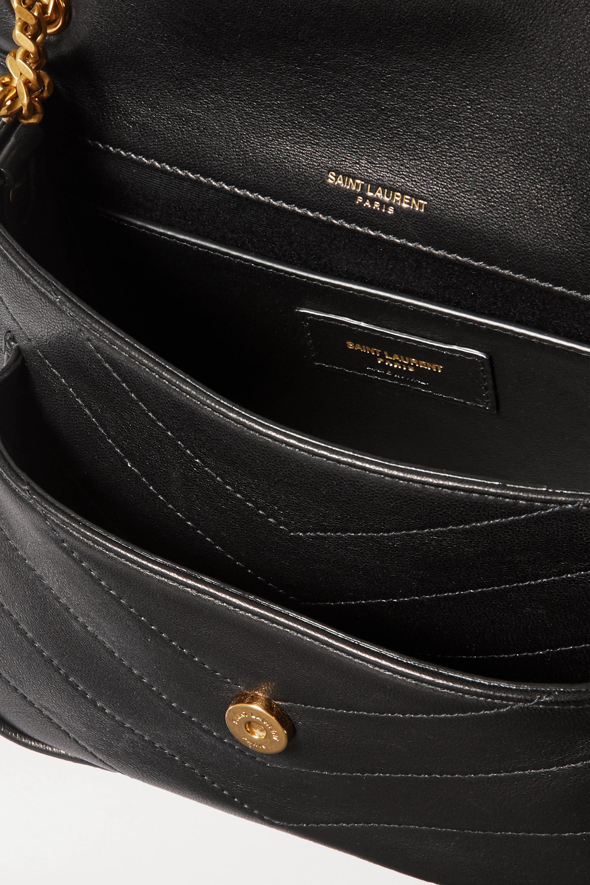 SAINT LAURENT Niki mini quilted leather shoulder bag