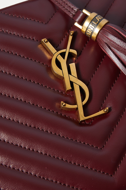 SAINT LAURENT Lou quilted leather shoulder bag
