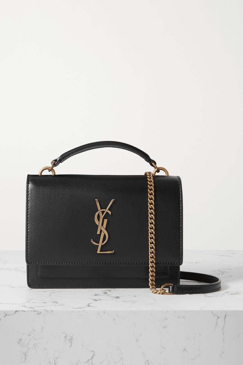 SAINT LAURENT Sunset leather shoulder bag