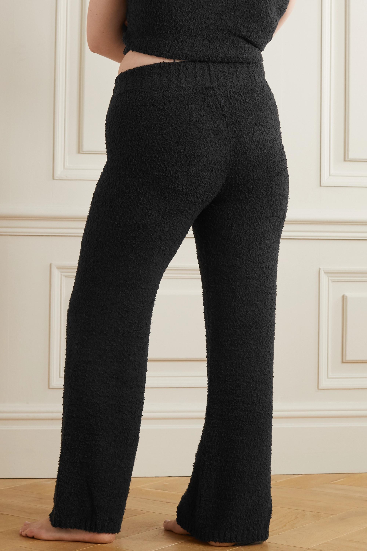 SKIMS Cozy Knit bouclé pants - Onyx