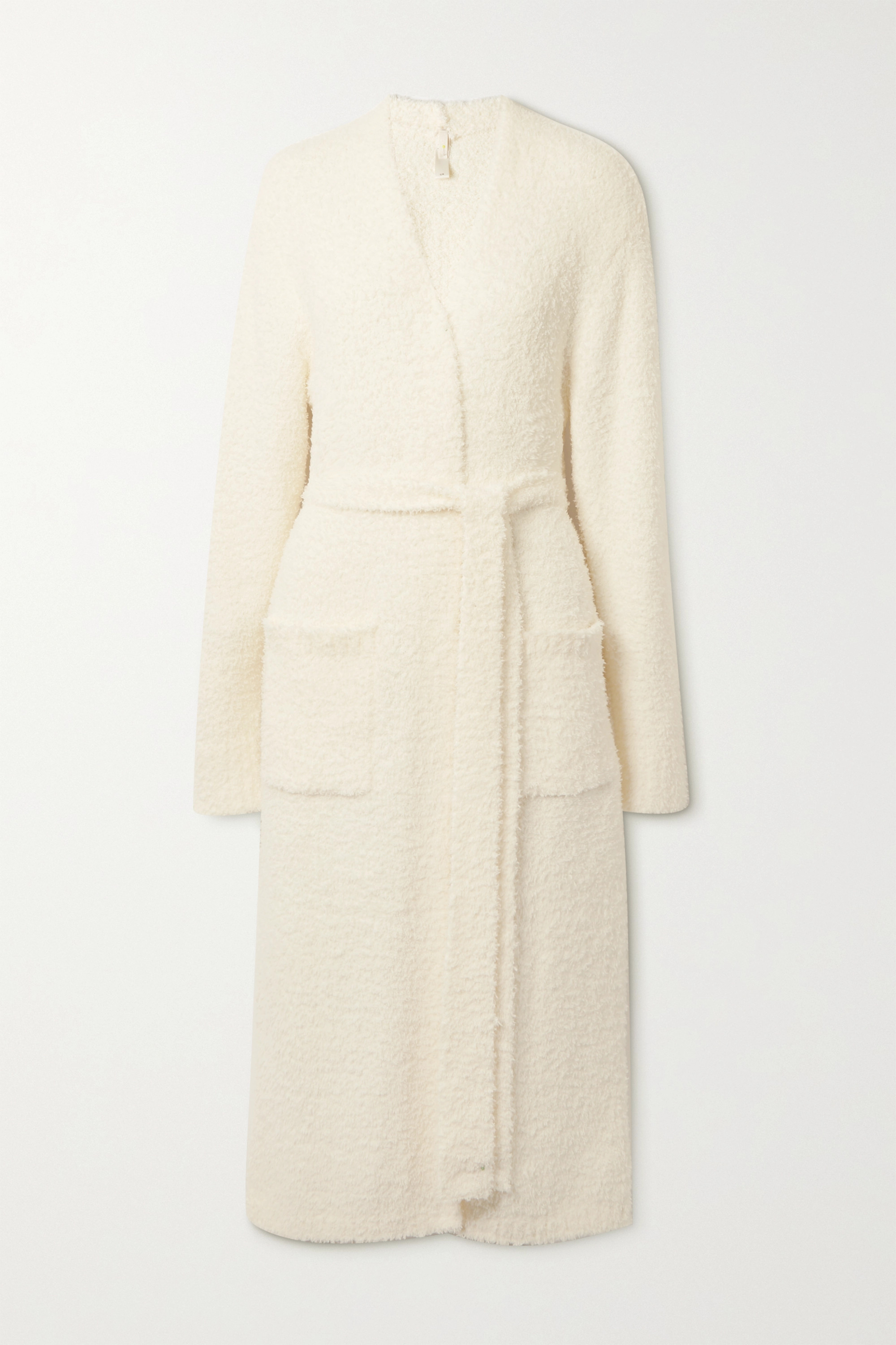 SKIMS Cozy Knit bouclé robe - Bone