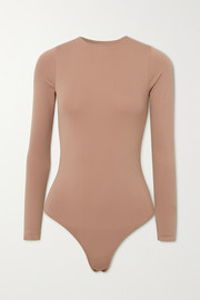 SKIMS Essential Crew Neck Thong bodysuit - Tiger's Eye