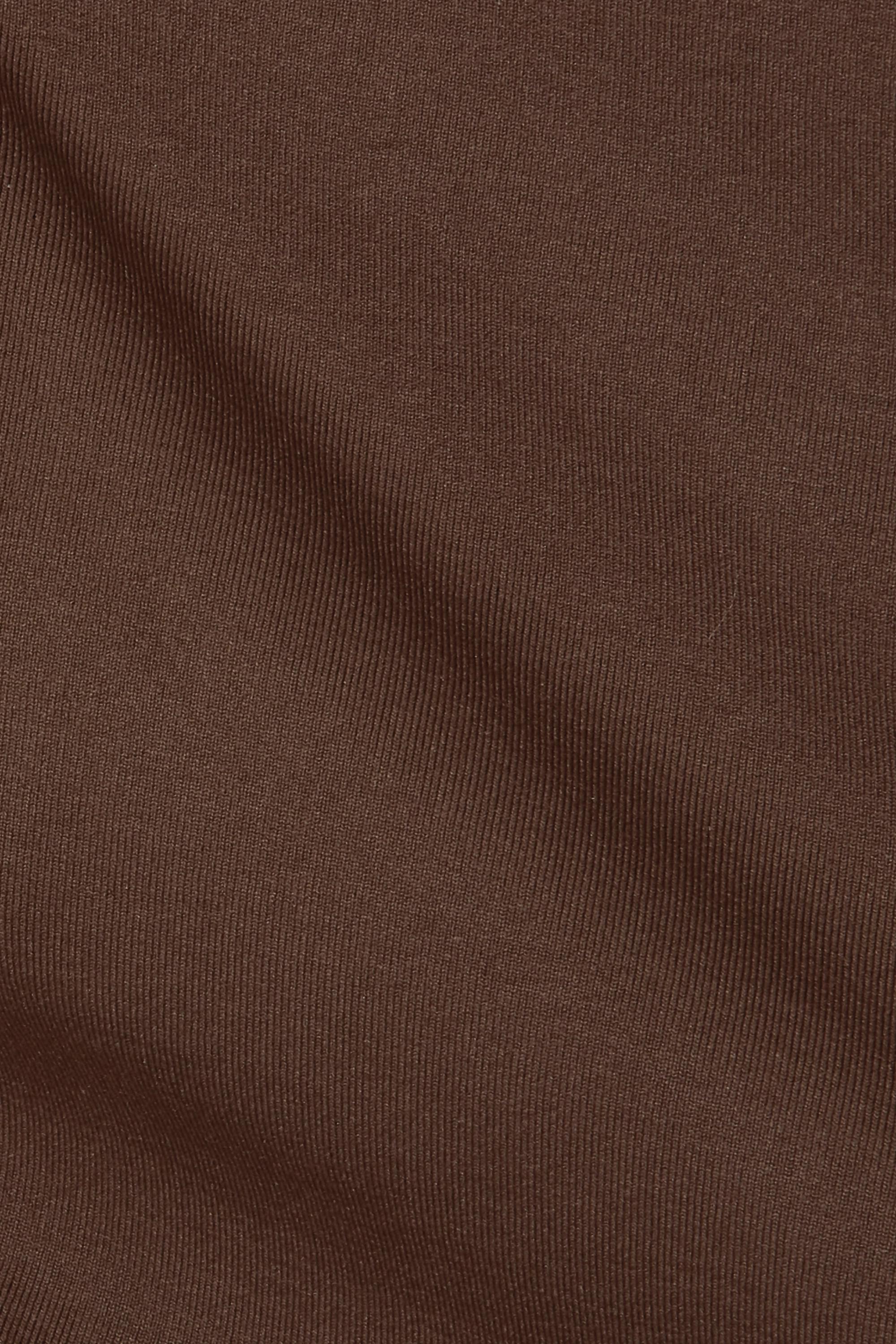 SKIMS Essential Mock Neck bodysuit - Smokey Quartz