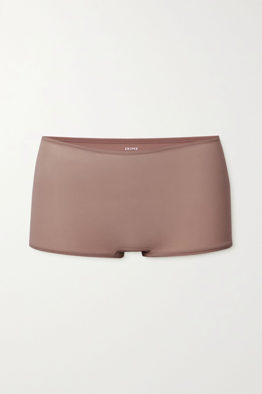 SKIMS Fits Everybody boy shorts - Umber