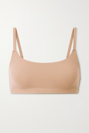 SKIMS Fits Everybody Scoop Neck bra - Clay