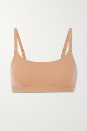 SKIMS Fits Everybody Scoop Neck bra - Ochre