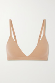 SKIMS Fits Everybody triangle bralette - Clay
