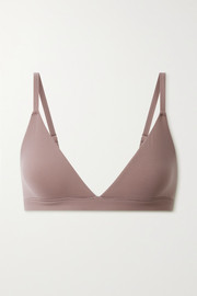 SKIMS Fits Everybody triangle bralette - Umber