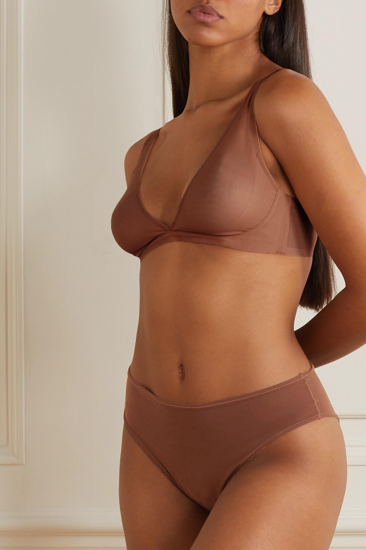 SKIMS Naked Everyday plunge bra - Jasper