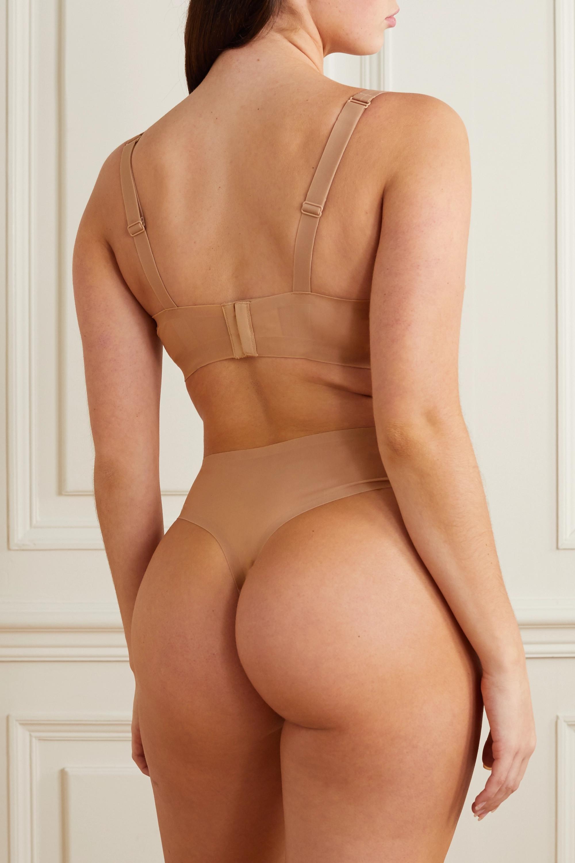 SKIMS Naked plunge bra - Honey