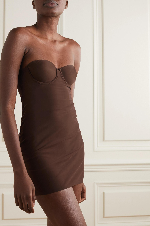 SKIMS Naked slip dress - Smokey Quartz