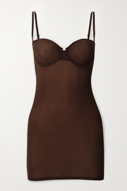 SKIMS Naked slip dress - Smokey Quartz