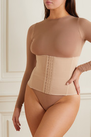 SKIMS Stretch-neoprene waist trainer - Clay