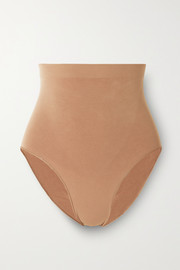 SKIMS Seamless Sculpt Sculpting Mid Waist briefs - Ochre