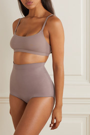 SKIMS Seamless Sculpt Sculpting Mid Waist briefs - Umber