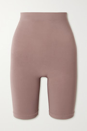 SKIMS Seamless Sculpt Sculpting Mid Thigh shorts - Umber