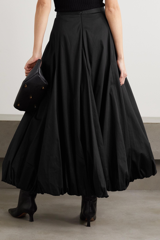 Renaissance Renaissance Ottoman cotton-blend midi skirt