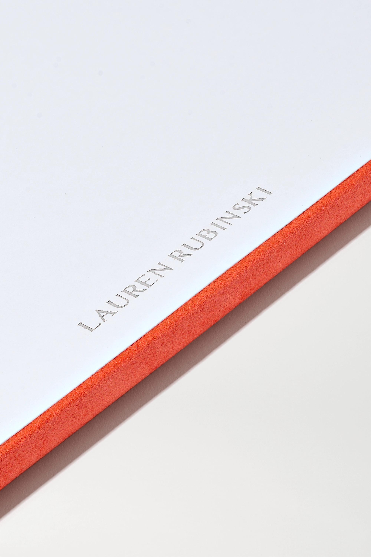Lauren Rubinski Schmuckablage aus Veloursleder